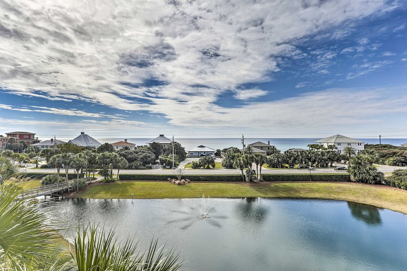 You can't beat this oceanfront Santa Rosa Beach vacation rental condo!