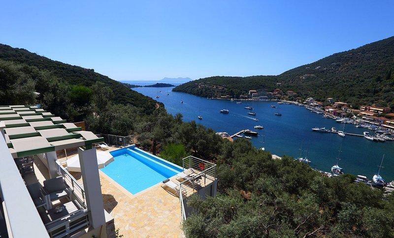 Ktima Aniforeli Luxury Villas • No car required, holiday rental in Evgiros