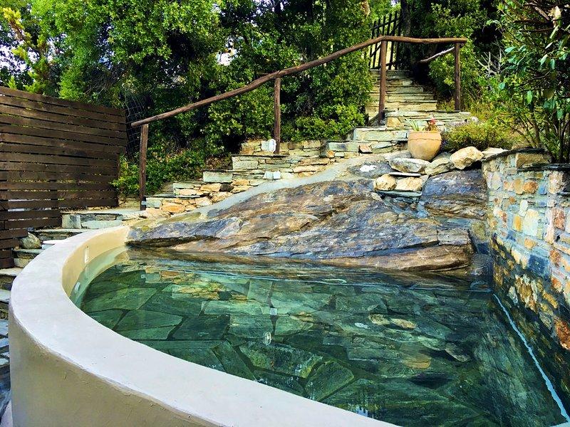 La piscina di raffreddamento