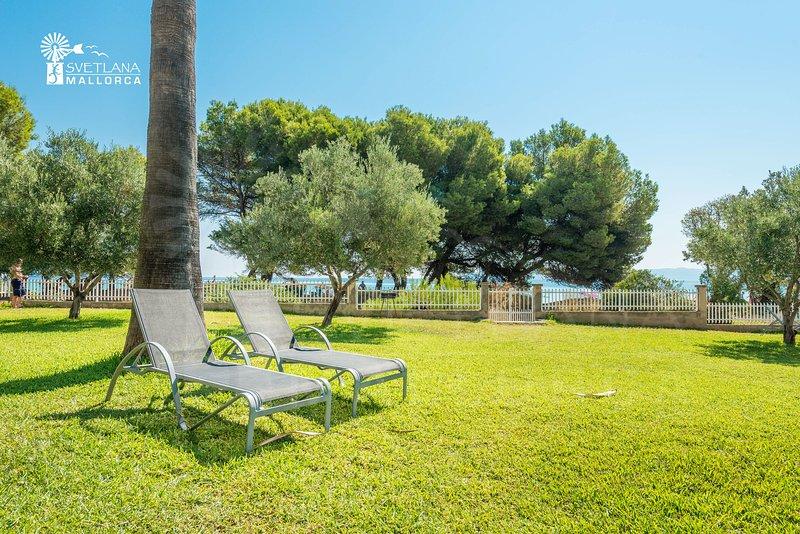 Apartamento SUN OF THE BUY 2A con vista mar, salida directa a la playa Alcudia, casa vacanza a Maiorca
