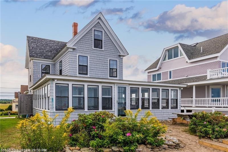 Marvelous Oceanfront Classic Maine Beach House Has Washer And Secure Beutiful Home Inspiration Xortanetmahrainfo