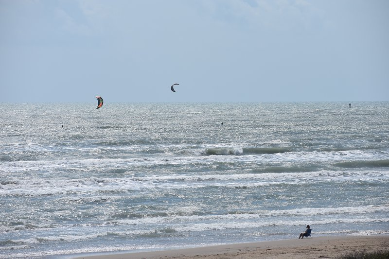 South Padre Island Beachfront Condo for Rent Has Waterfront and