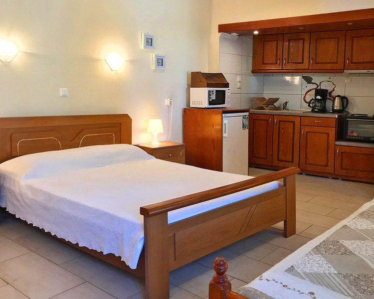 Chambre à coucher, cuisine ou kitchenette