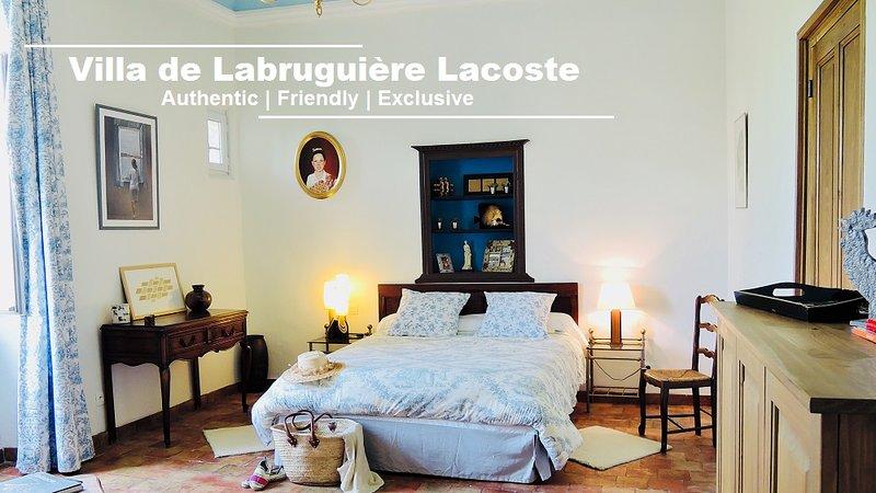 Chambre d'hôtes Provencal Room - Villa de Labruguière Lacoste, location de vacances à Canaules-et-Argentières