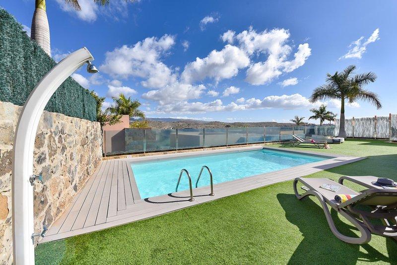 Par4 villa 20 con piscina privada en el salobre maspalomas espa a actualizado 2019 - Villas en gran canaria con piscina ...