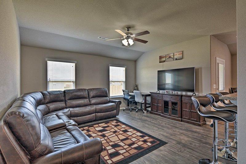 This 3-bedroom, 2-bathroom property sleeps 6 guests.