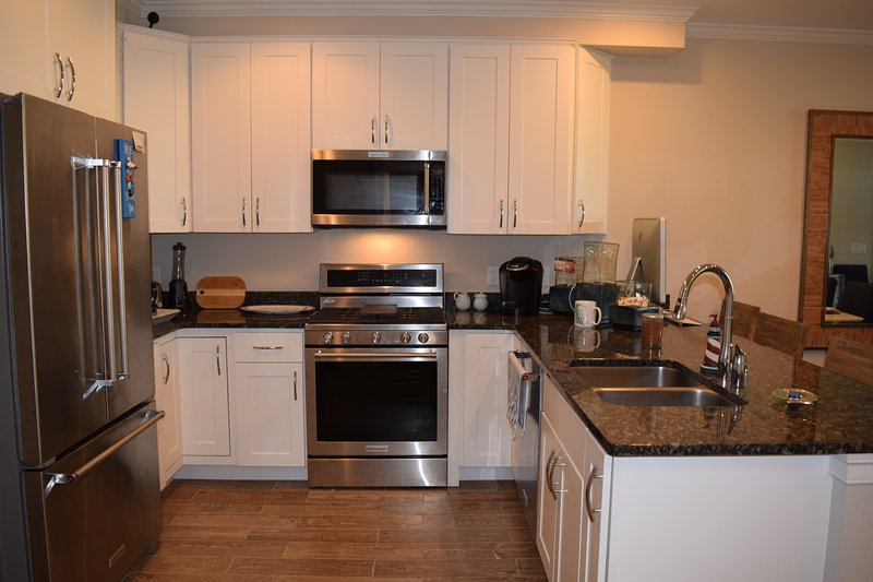 Open well equipped kitchen!