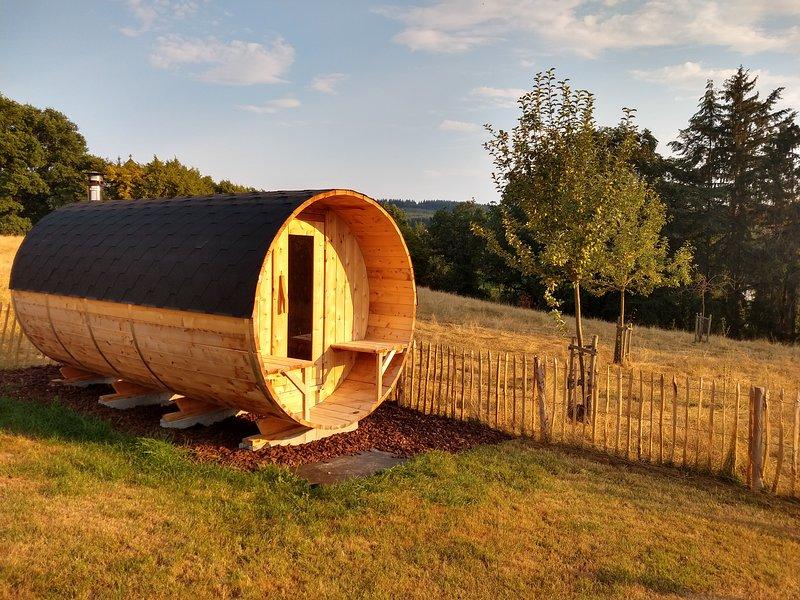 MARIE-JOSEE gezellig huis met haard, sauna, Les Vergers de Thimont Ardennature, location de vacances à Ortho