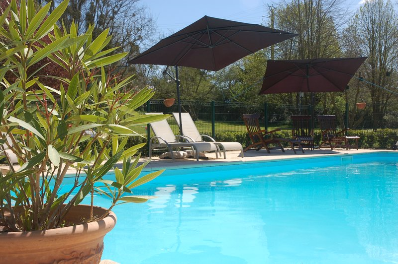 Le Logis du Pressoir, Les Rosiers, holiday rental in Jarze