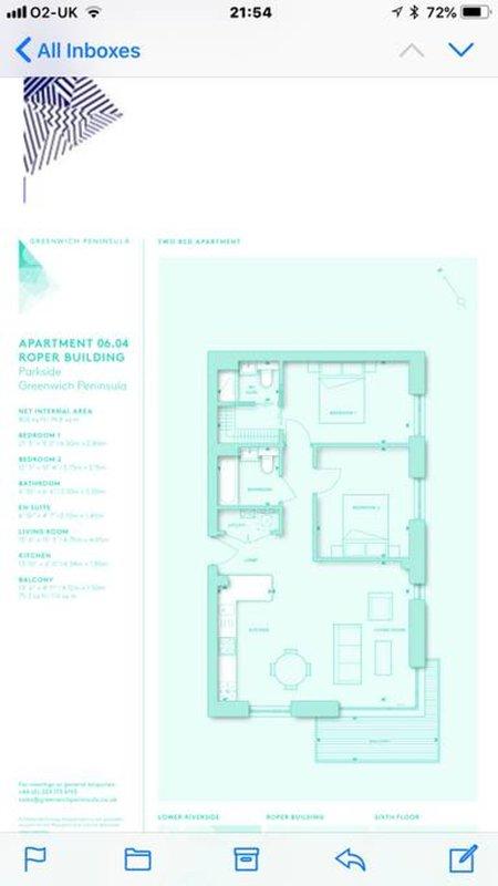 The floorplan.