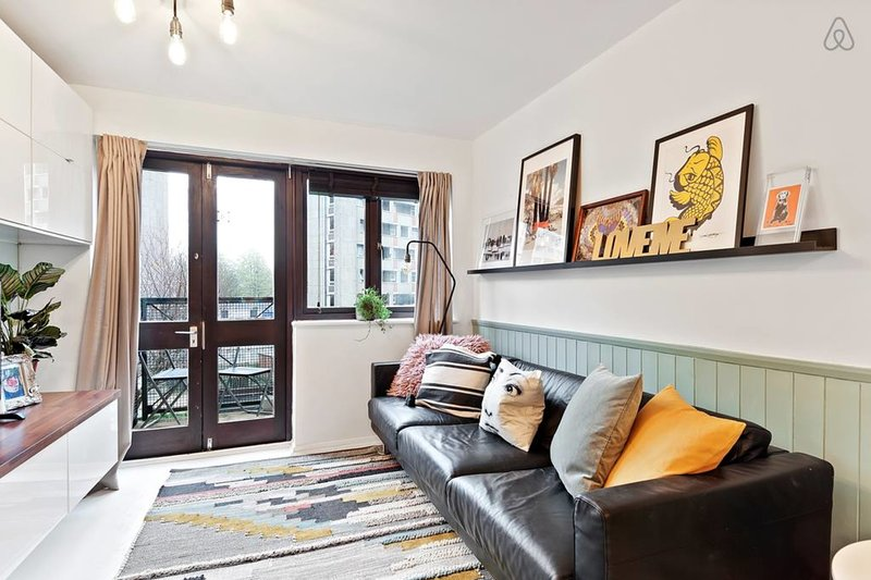 Bienvenido a este apartamento artístico en Hoxton