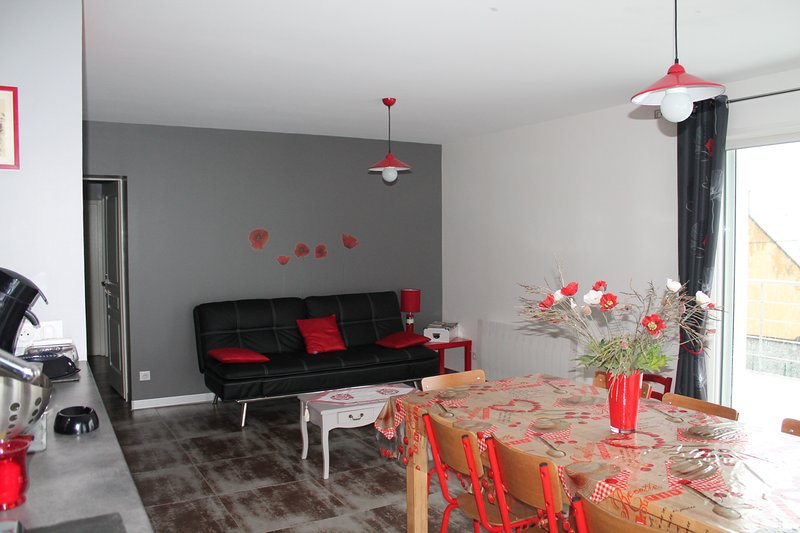 Amazing house with terrace & Wifi, holiday rental in Viscos