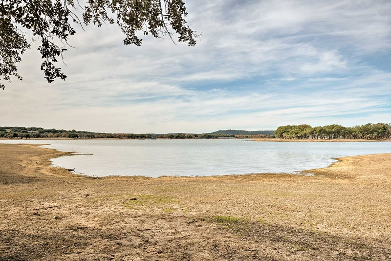 For a daily fee, you can enjoy full access to the community's lakefront park.