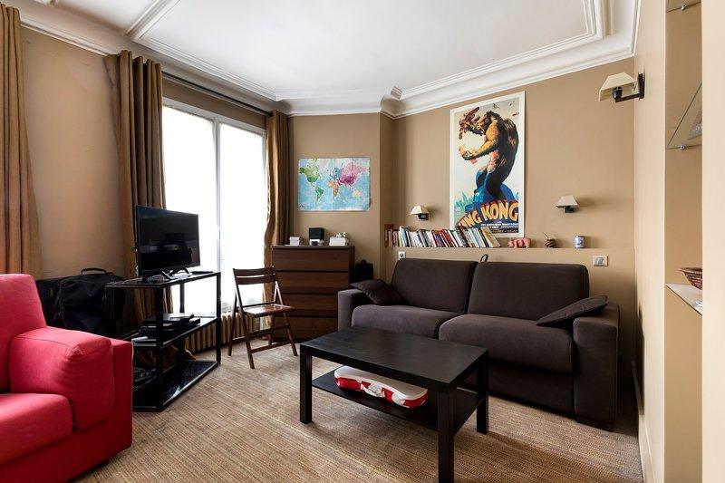 Charmant studio au calme et baigné de soleil, location de vacances à Neuilly-sur-Seine