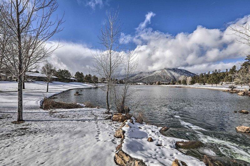 Escape the heat and retreat to Flagstaffs winter wonderland.