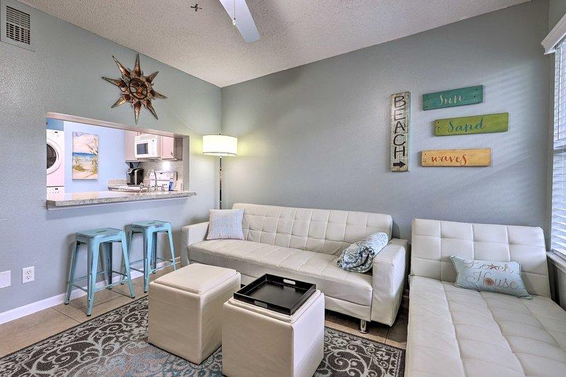 Planifiez vos prochaines vacances en famille Gulf Shores dans ce condo à 2 lits et 2 salles de bain!