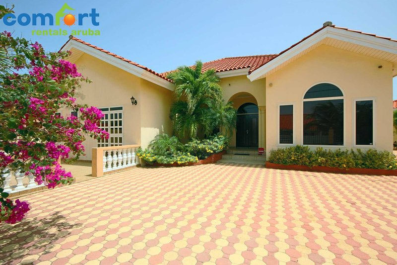 The spacious Opal villa perfect for families or large groups