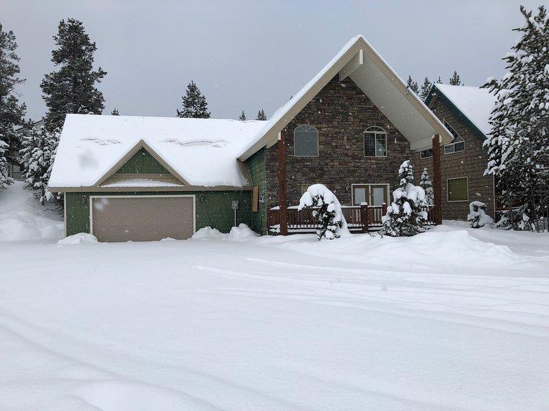 Monte snowmobiles mesmo à sua porta!