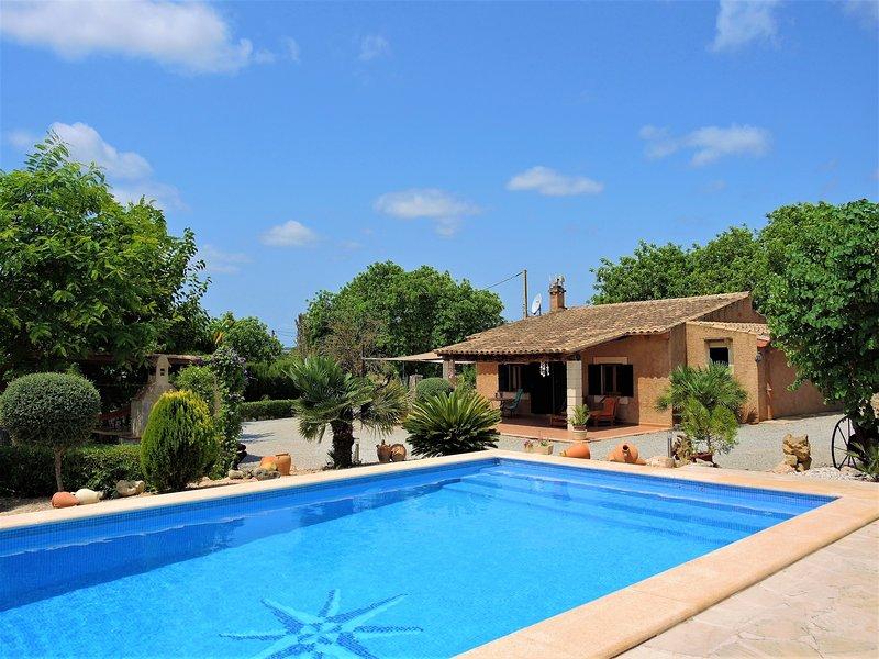 Ca'n Jeroni - House with large pool in Sant Llorenç des Cardassar, vakantiewoning in Sant Llorenç des Cardassar
