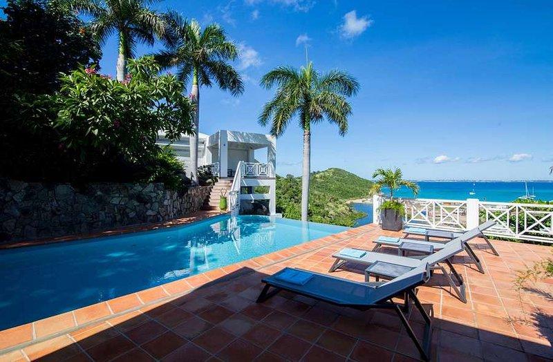 Casa Branca... 3BR vacation rental in Anse Marcel, St Martin