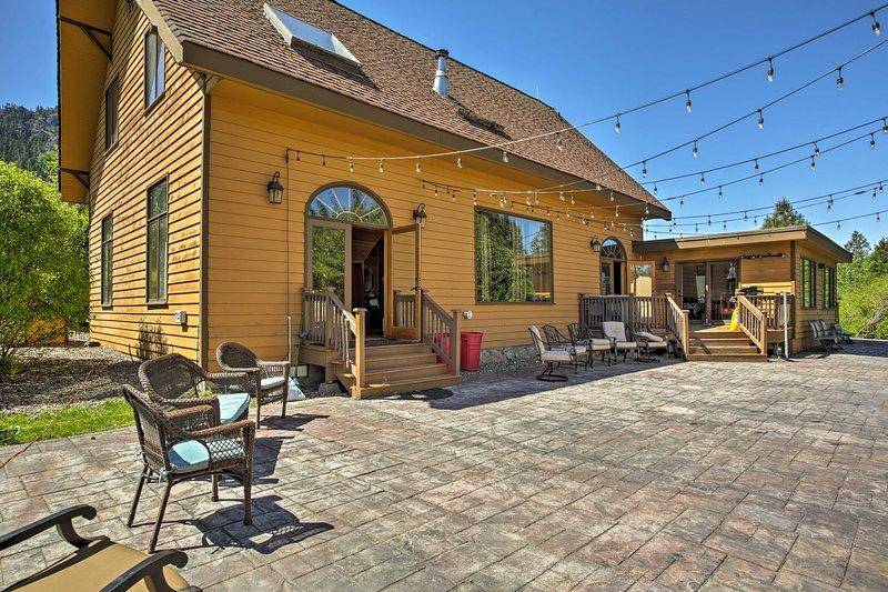 'Big House Lodge' - Cle Elum Retreat on 8 Acres!, alquiler vacacional en South Cle Elum