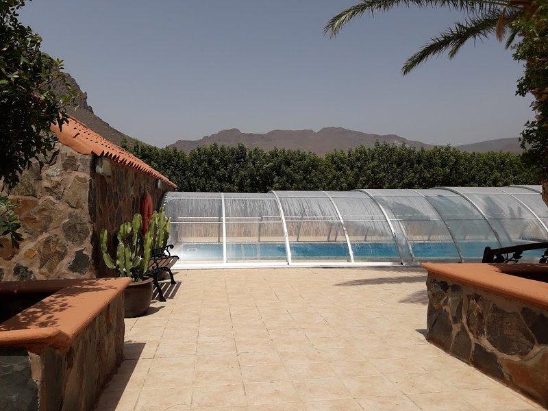 Grande piscina privata