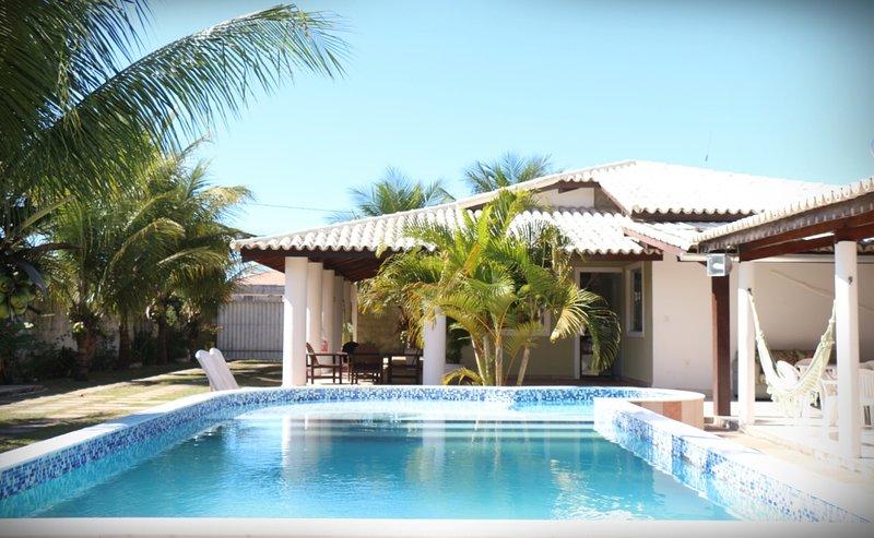 Promoção Dezembro e Fevereiro Excelente casa de praia 5 quartos piscina churrasq – semesterbostad i Porto Seguro