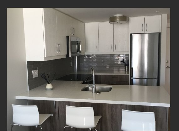 Full kitchen equipped with, dishwasher, microwave, kettle, toaster, dishes, pots, pan etc.