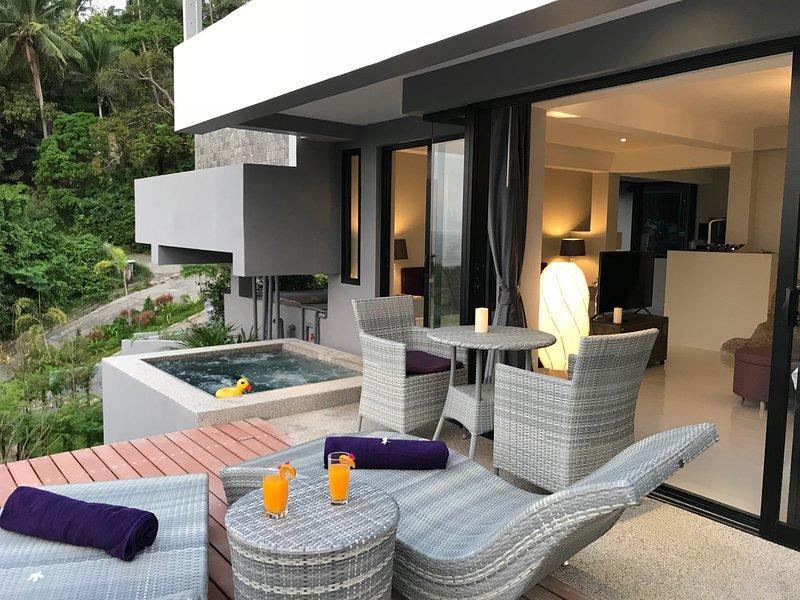 Studio Little Paradise Sea View, holiday rental in Laem Set