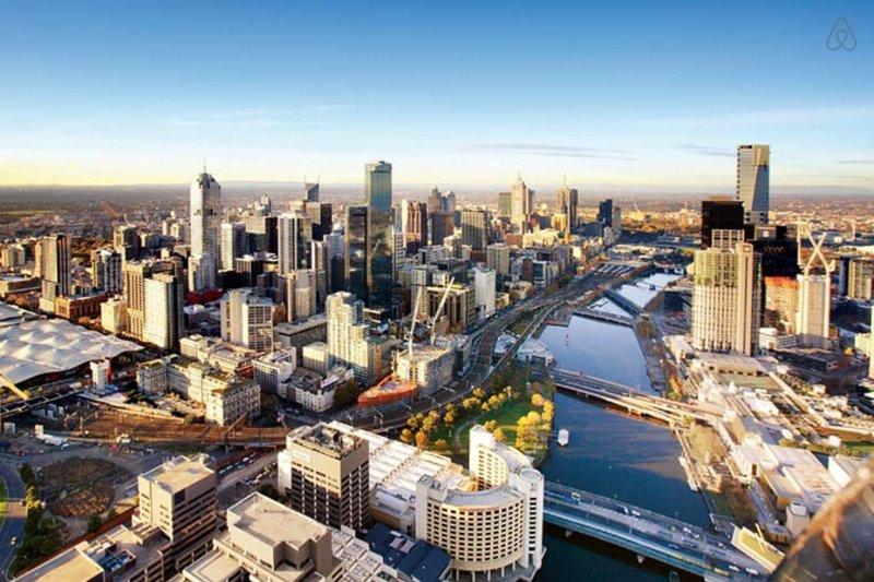 Melbourne. Still the worlds most liveable city.