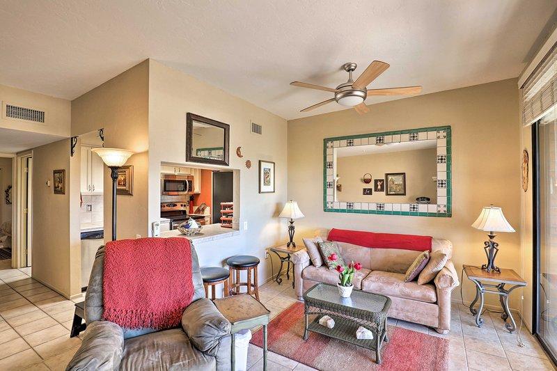 Con camas para 4, esta espaciosa casa es ideal para familias.