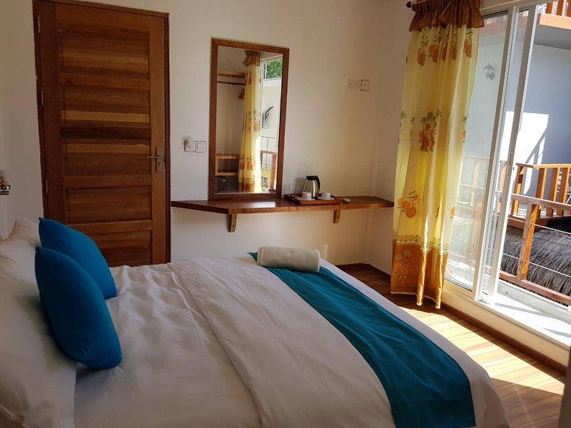 HudhuVeli Inn (Bedroom 5), Ferienwohnung in Süd-Male-Atoll