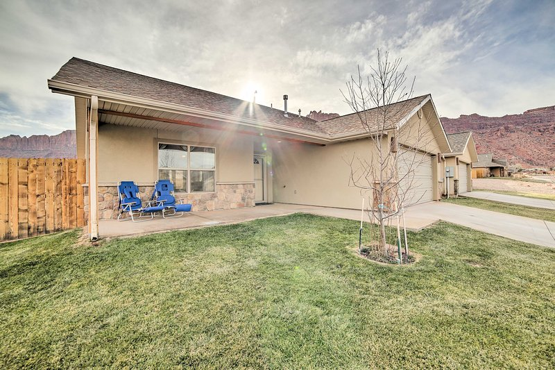 This 3-bedroom, 2-bath home provides the perfect base for your Moab trip!