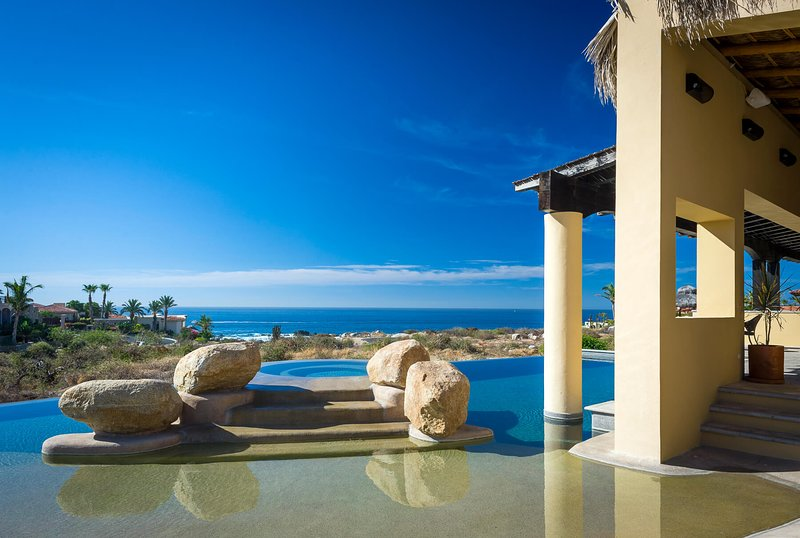 Enjoy the spectacular view of the Sea of Cortez from the expansive & open terrace at Casa Tita!