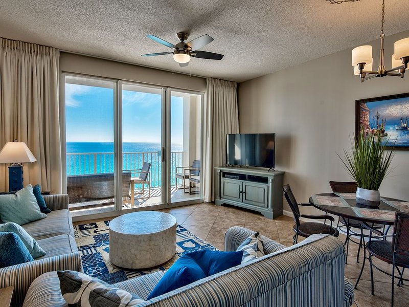 Unobstructed ocean views from this newly remodelled and updated condo.