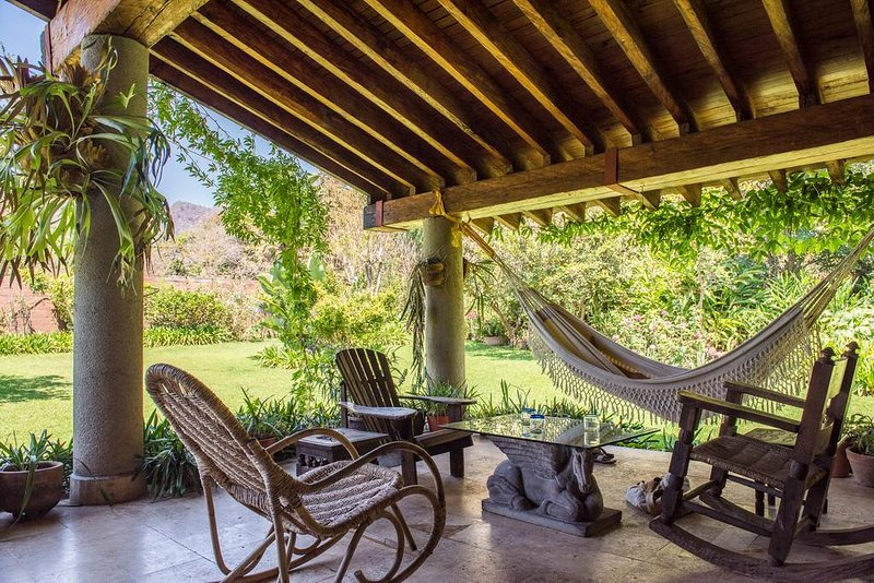 Rest and Relax in this house in Malinalco, vakantiewoning in Estado de Mexico