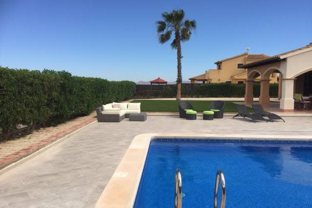 HL026 · HL026  luxurious villa, HDA golf resort, vacation rental in Fuente Alamo