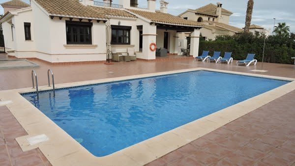 HL 027  luxurious villa, HDA golf resort, holiday rental in Fuente Alamo