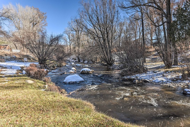 Take a dip in the cool waters of Cottonwood Creek!