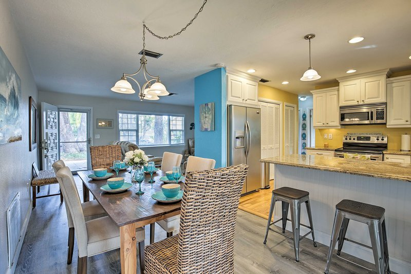 The 3-bed, 2-bath house includes 1,550 square feet of living space.