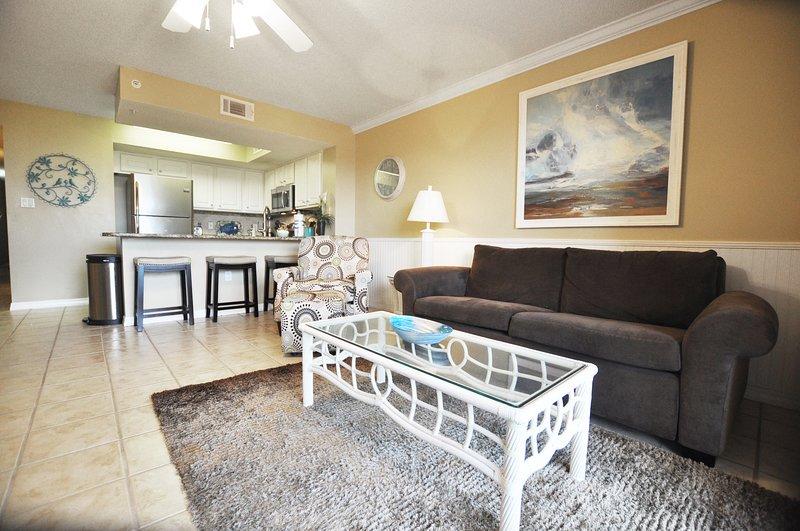 Living Room -  Gulf Dunes 114 Fort Walton Beach Florida Okaloosa Island