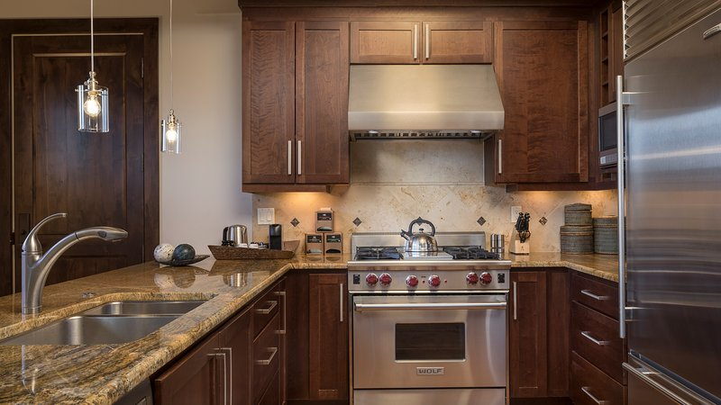 Make a delicious meal in your fully-equipped kitchen.