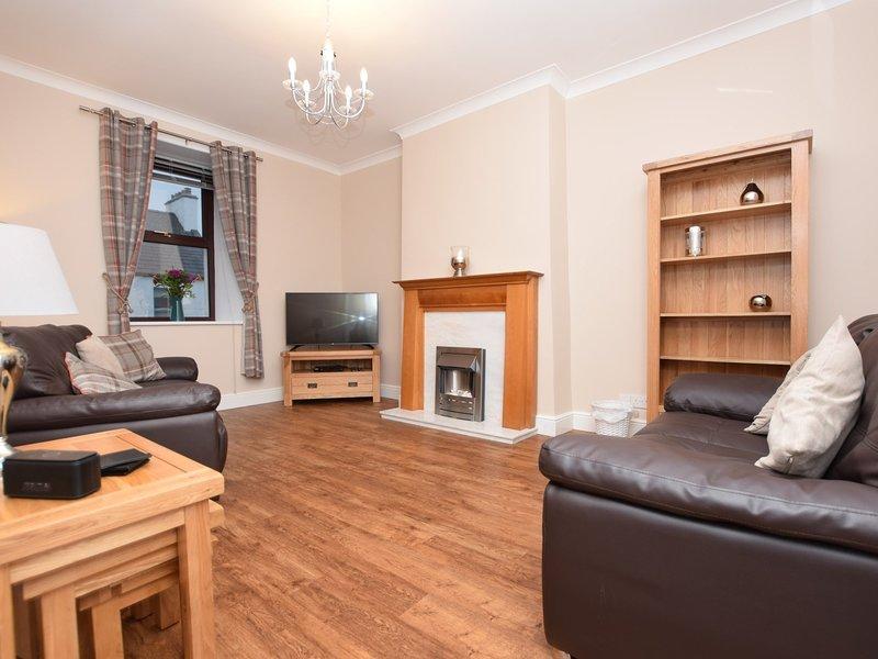 Stylish lounge with Smart TV to enjoy