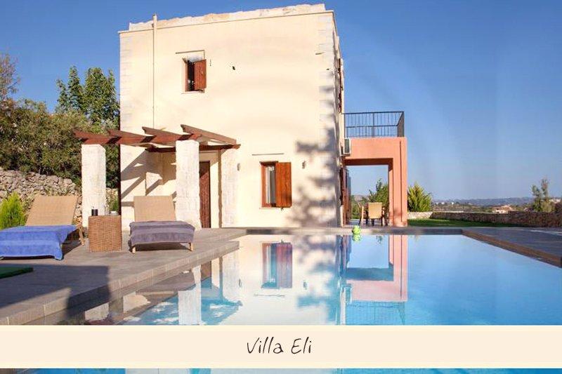 Villa Elli moderne idéalement placée dans village authentique crétois., vacation rental in Gavalochori