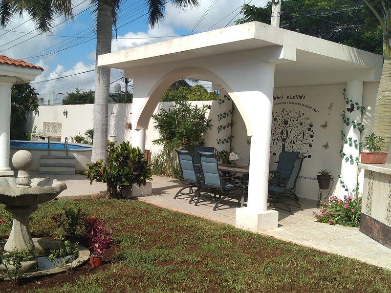Hospedsje Uribes House Disfrutar es Vivir, holiday rental in Conkal