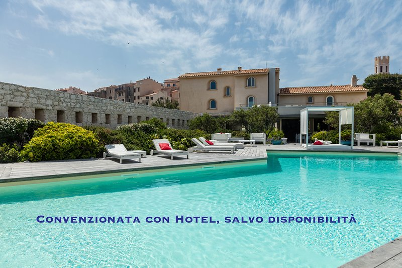 Swimming pool with Hotel, subject to availability