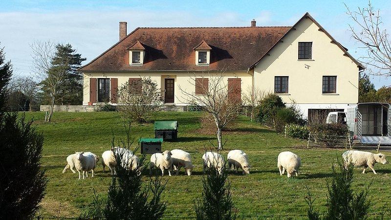 La Grande Maison - Brigueil-Le-Chantre France, alquiler de vacaciones en Montmorillon