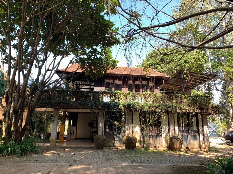 Culture villa with private pool at Baan suan residence, holiday rental in San Sai