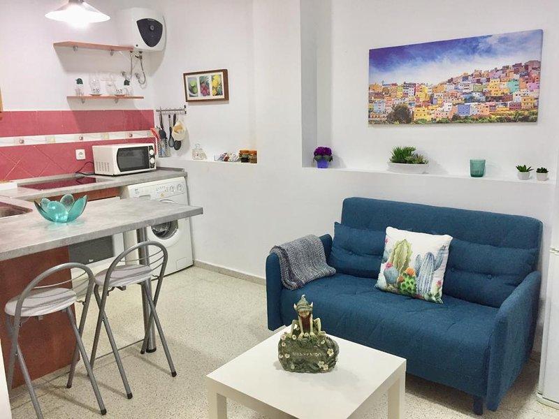 Apartamento 5 minutos Las Canteras con Wi-Fi, vacation rental in Las Palmas de Gran Canaria