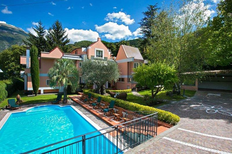 Villa Enrica Antrodoco, holiday rental in Barete
